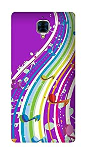 SWAG my CASE PRINTED BACK COVER FOR ONE PLUS 3 Multicolor