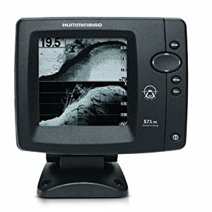 Humminbird 4089601 571 hd di down imaging and for Amazon fish finder