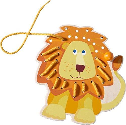 Haba Lion Threading Animal - 1
