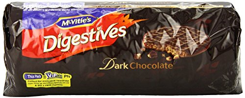 McVitie's Digestives Roll Wrap, Dark Chocolate, 10.5-Ounce (English Chocolate Biscuits compare prices)