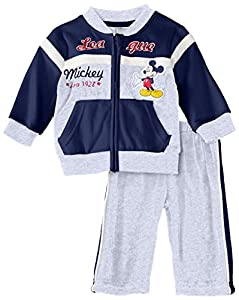 Disney Mickey Mouse Nh0097 - Traje de footing para niños