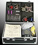 6 Gun Tattoo Machine Kit Tattoo Gun Kit By JRFOTO S-T06 Tattoo Kit