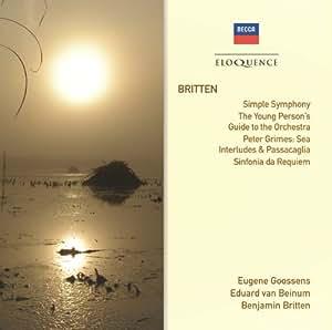 Britten: Simple Sym / Four Sea Interludes