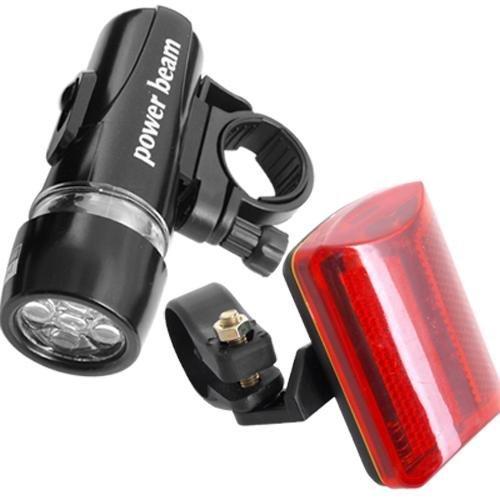 5-LED-antorcha-linterna-frontalluz-roja-de-bicicleta