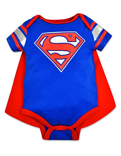 Baby Boys' Superman Onesie with Cape (0-3 Months)