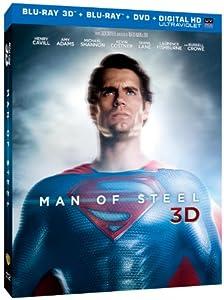 Man of Steel (Blu-ray 3D + Blu-ray + DVD + Digital HD with UltraViolet) from Warner Home Video