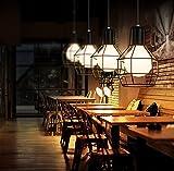 Stile industriale Loft da soffitto pendente Light Fixture-Lampada a sospensione, paralume, lampadina non inclusa)