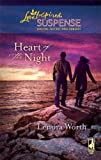 img - for Heart of the Night (Christians for Amnesty, Intervention and Missions Series #2) (Steeple Hill Love Inspired Suspense #131) book / textbook / text book