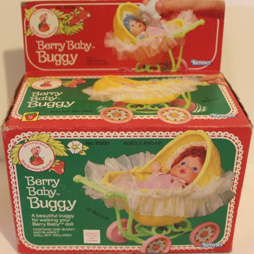 Strawberry Shortcake Berry Baby Buggy No. 91230 1984 front-468852
