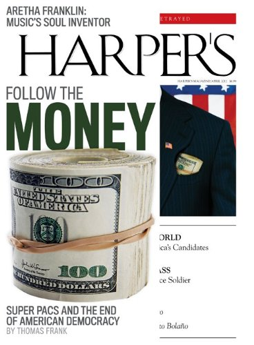Harper's Magazine (1-year auto-renewal)