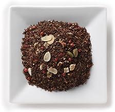 Mahamosa Rooibos Herbal Tea Blend and Tea Infuser Set 4 oz Ginger Pepper Orange Rooibos Herbal Tea 1