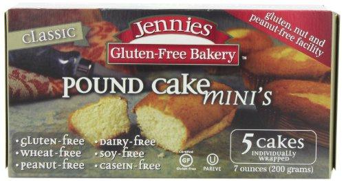 Jennies Gluten Free Classic Pound Cake (3x7oz) (Wheat Free Market Baking Mix compare prices)