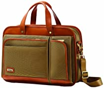 Hartmann Luggage Intensity Belting Two Compartment Business Case, Olive, One Size