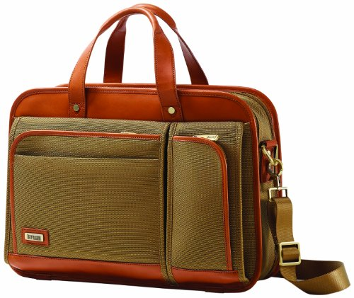 hartmann-luggage-intensity-belting-two-compartment-business-case-olive-one-size