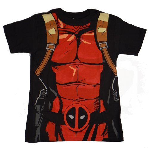 Marvel I Am Deadpool Costume T-shirt
