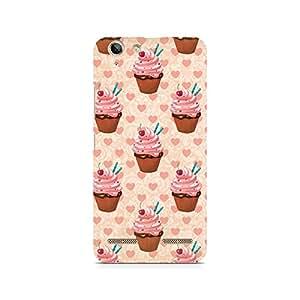 Ebby Stawberry Cupcakes Premium Printed Case For Lenovo K5 Plus