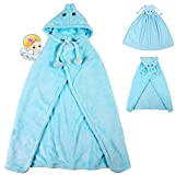 2014 New Children Hooded Cloak Cape Soft Cloak Coats Baby's Necessary Cloak to Keep Warm Baby Blanket Infant Sleeping Bags (S, Blue)