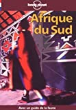 Lonely Planet Afrique Du Sud (French Edition) (2840700786) by Else, David