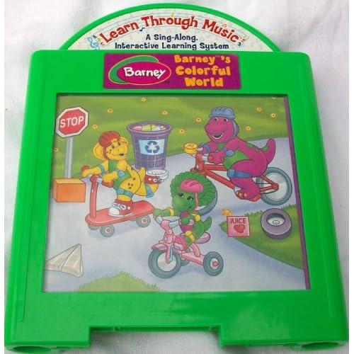 Barney sing n play musical songbook - YouTube
