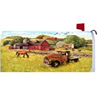 Farm Truck 1592MM Magnetic Mailbox Cover Wrap