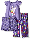 Little Me Baby 3 Piece Set Pajama, Bunny, 12 Months Size: 12 Months SpecialSizeType: Baby Color: Bunny, Model: LS604207I, Newborn & Baby Supply