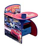 Disney Pixar Cars Desk Chair with Storage Bin