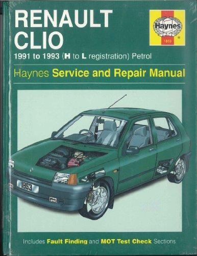 Clio manual renault pdf haynes