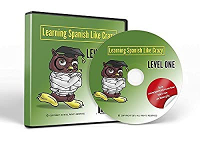 Learn Spanish: Learning Spanish Like Crazy Level 1 CDR (New & Improved Version for PC and Mac)
