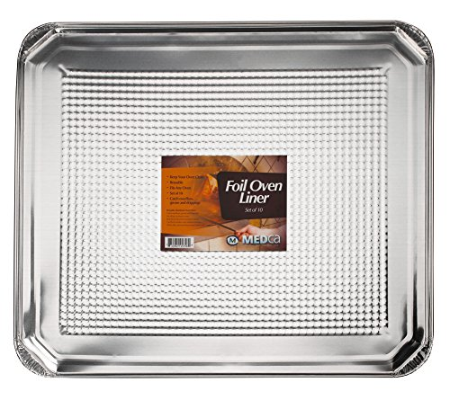Foil Oven Liner 18.5 X 15.5 Inch Set of 10 (Foil Liners For Electric Oven compare prices)
