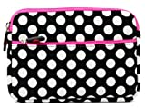 White Polka Dots Neoprene Sleeve Fi