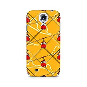 Ebby Cable Car Fusion Premium Printed Case For Samsung S4