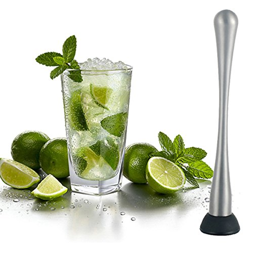 tourwin en acier inoxydable Cocktail Pilon à Mojito pour glace pilée Marteau Bar Accessoires