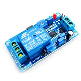 HiLetgo 12V 通常オープントリガー遅延リレー モジュール 振動アラーム モジュール 遅延スイッチ [並行輸入品]
