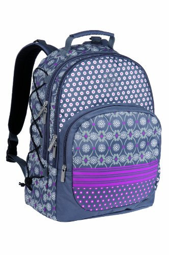 Lässig LBP13342 - Wickelrucksack Casual Backpack Multimix, ash