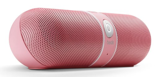 Beats by Dr. Dre Pill Limited Edition Portable Speaker (Pink) Bundle Beats USB Cable (Type A To Micro B) and Custom Designed Zorro Sounds Cleaning Cloth