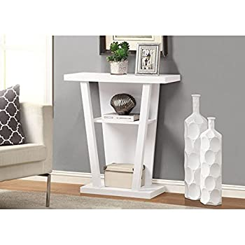 Monarch Hall Console Accent Table, 32-Inch, White