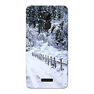 Mobile Back Cover For CoolPad Note 3 Plus (Printed Designer Case)