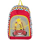Travel Kids Gadget Play Backpack Fits Disney Portable DVD Players (Car Design)