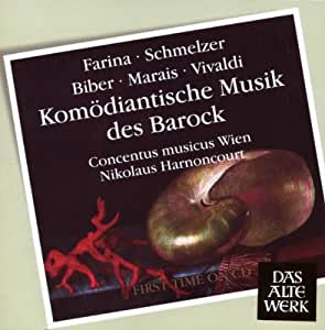 Komödiantische Musik des Barock