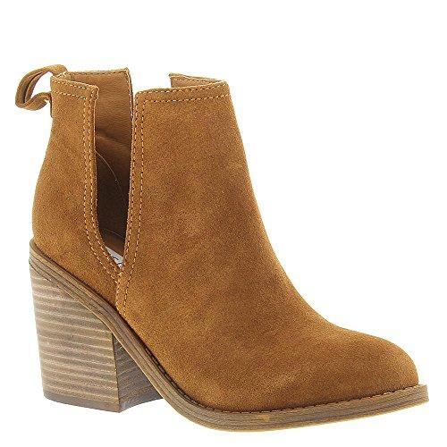 Steve Madden Women's Sharini Boot, Chestnut Suede, 7.5 M US