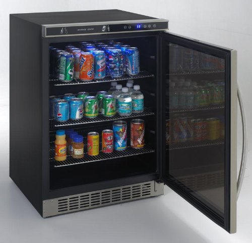 Avanti : BCA5105SG1 24 Beverage Center 5.3 cu. ft. Capacity, Adjustable/Removable Shelving