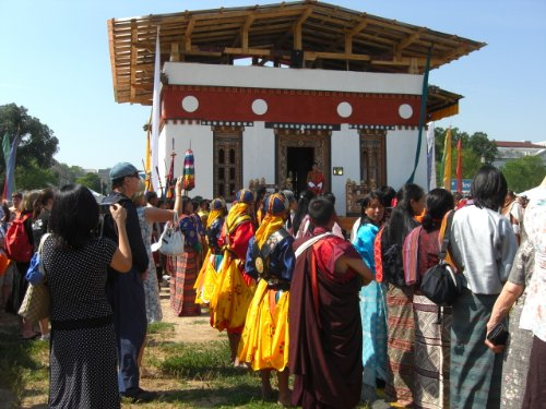 Temple on the Mall: The Harmonic Convergence of the Faux Bhutan
