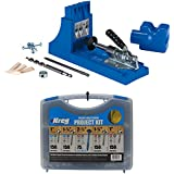 Kreg Jig K4 Pocket Hole System and Kreg SK03 Pocket-Hole Screw Kit