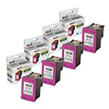 LD © Remanufactured Replacements for Hewlett Packard CC564WN (HP 61XL) Set of 4 High Yield Tri-Color Ink Cartridges for use in the following HP Deskjet, ENVY e-all-in-one, and OfficeJet printers: 1000, 1010, 1050, 1051, 1055, 1056, 1512, 2050, 2510, 2512, 2540, 3000, 3050, 3050A, 3051A, 3052A, 3054, 3056A, 3510, 3511, 3512, 3516, 4500, 4632, 5530, 4630, 4635 ~ LD Products