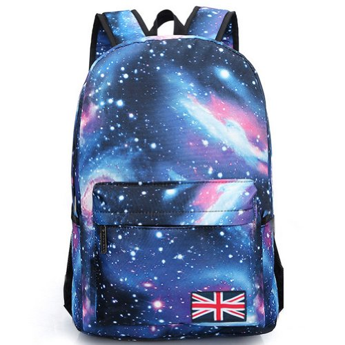 Beier® Xk6 Special Galaxy Flag Backpack Men And Women Fashion Student Schoolbag