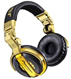 Pioneer HDJ-1000G Limited Edition Professional DJ Headphones, Gold