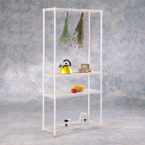 Intermetro Peppercorn Pantry Storage Unit, Black, Metal