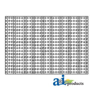 A & I Products Screen, Front Grille Replacement For John Deere Part Number M1...