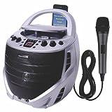 Karaoke USA GQ367 Portable Karaoke CDG Player