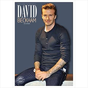 David Beckham A3 Calendar 2014 (Red Star): Amazon.co.uk: Red Star